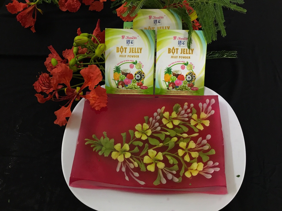 Products from Hoang Yen jelly